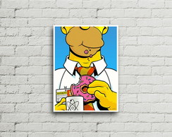 Placa Vintage Retro Homer Simpson