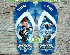 Chinelo Max Steel