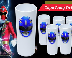 Copo Long Drink - Power Rangers