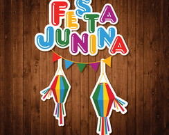 Kit Placas Festa Junina (A4)