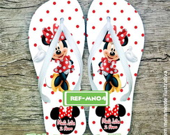 Chinelo Infantil Minnie