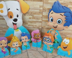 Kit bubble guppies - mdf