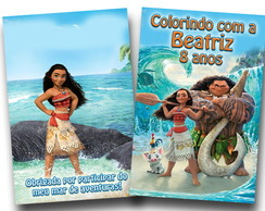 revista colorir moana 14x10