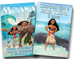 Moana revista colorir 14x10