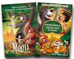 revista colorir mogli
