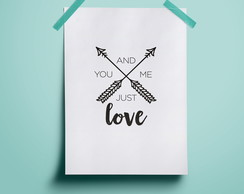 Poster You and Me - A4