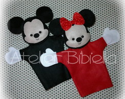 MICKEY E MINNIE O PAR DE FANTOCHES