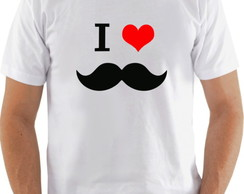 Camiseta I love Bigode