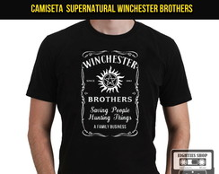 Camiseta Sobrenatural Winchester Brother