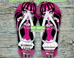 CHINELO PERSONALIZADO MONSTER HIGH