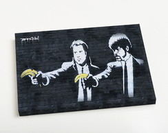 Quadro P Pulp Fiction Banana Guns