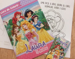 Kit de Colorir Princesas