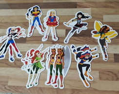 Apliques - DC Super Hero Girls