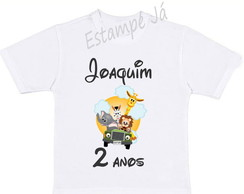 Camiseta Personalizada do Safari Camiseta de Safari