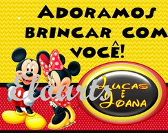 Tag Mickey e MInnie