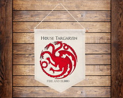 Flâmula House Targaryen Game of Thrones