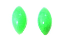 Chaton Navete 10x24mm Verde- 40unid