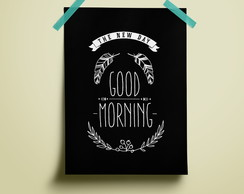 Poster Good Morning - Coffee