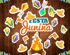 Kit Scrap Digital / Festa Junina