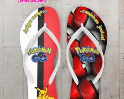 Chinelo Infantil Tema Pokemon