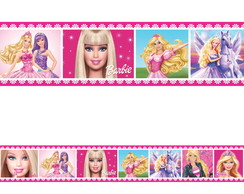 Faixa Decorativa Border Barbie