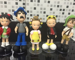Kit Turma do Chaves - Personagens P