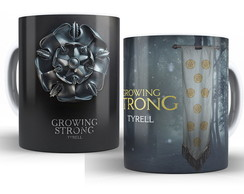 Caneca Game of Thrones - Casa Tyrell