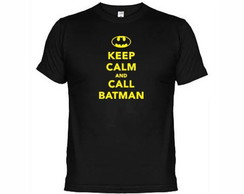 Camisetas Keep Calm And Call Batman