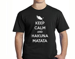 Camisetas Keep Calm And Hakuna Matata