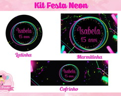 Kit Festa Neon (Digital)