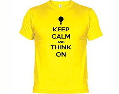 Camisetas Keep Calm And Think On