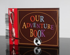 Álbum Scrapbook - namorados - Our adventure book #FL k