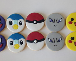 Biscoito Decorado - Pokemon