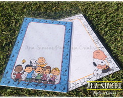 Papel de Carta Snoopy