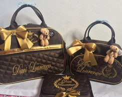 Collection Glamour Aurea - Bolsa trio