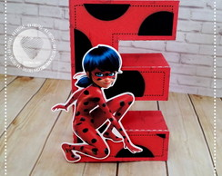 Letras 3D Lady Bug