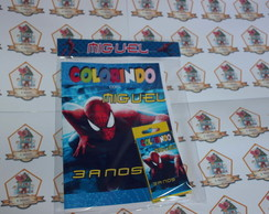 Revista Para Colorir KIT VINGADORES