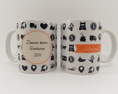 Caneca Porcelana Corporatvio