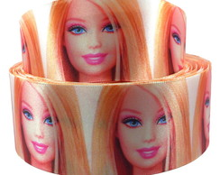 Fita de Cetim Barbie Face 38mm x 10m