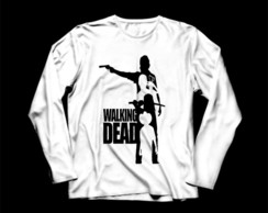 Manga Longa Masculina The Walking Dead