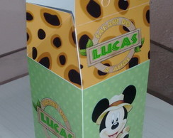 Caixa Milk Mickey Safari