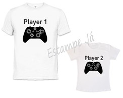 Camisetas de Video Game Dia dos Pais