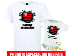 Kit camisa e Body Flamengo, vasco, Times