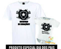 Kit camisa e Body Botafogo Times