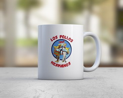 Caneca Pollos Hermanos - Breaking Bad