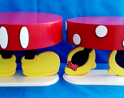 Kit - Mickey - Minnie - 02 - Bandejas - PP