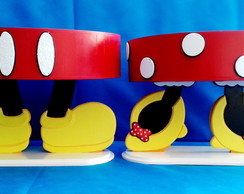 Kit - Mickey - Minnie - 02 - Bandejas - P