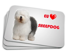 mousepad sheepdog