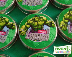 Latinha Mint to be Vingadores Hulk