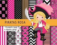 Kit Digital - Piratas Rosa